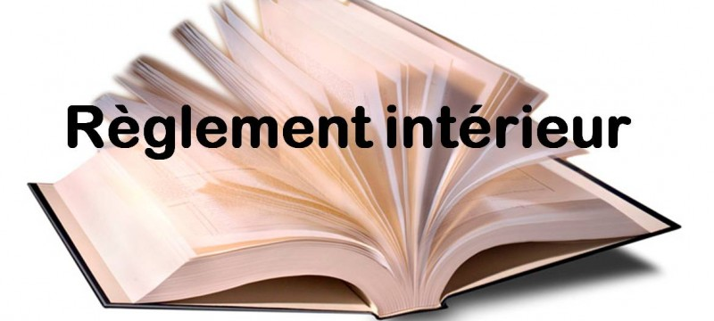 Modification du règlement intérieur d'une entreprise