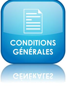 Mise à jour des conditions générales de vente