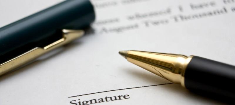 Signature de la caution sous la mention manuscrite